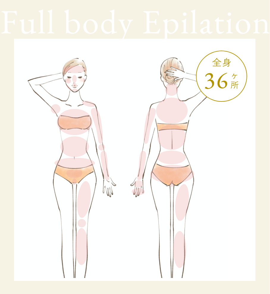 Full body Epilation