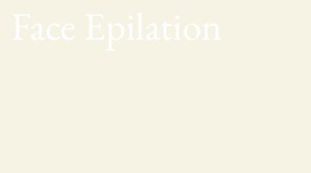 Select parts Epilation